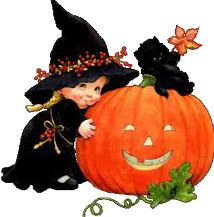 ruth morehead cute little halloween witch - Cute Halloween Witches