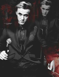 I guess it makes sense that Draco is my HP crush, considering I got sorted into Slytherin on Pottermore :)