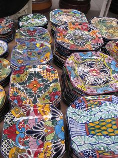 Talavera pottery, pull it out if you have some!