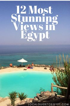 These 12 places have the most stunning views Egypt has to offer. Places To Travel, Places To See, Travel Destinations, Egypt Travel, Africa Travel, Visit Egypt, Sharm El Sheikh, Wanderlust, Luxor