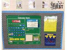 Fun in First Grade: What Does Calendar Time Look Like in Your Room? First Grade Calendar, Calendar Time, Classroom Setup, Classroom Organization, Classroom Management, Ready Freddy Books, Math Vocabulary Words, 1st Grade Math, Second Grade