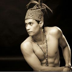 Filipino tribesman (probably an actor!)