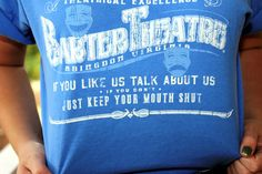 Weekly Whistle: Barter Theatre Tee, Denim Mini, and Burgundy Leather