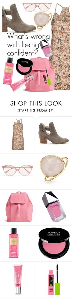 """""""can't get this song out of my head..."""" by elliewriter ❤ liked on Polyvore featuring SIYU, Sole Society, Prism, Bling Jewelry, Vera Bradley, GUiSHEM, Victoria's Secret, Beauty Rush and Maybelline"""