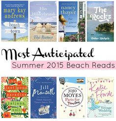 Most Anticipated Summer 2015 Beach Reads - The Rachel Emily Blog