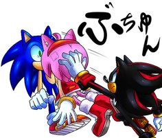 Even Shadow ship SonAmy!  YES!! you´re fantastic Shadow!!