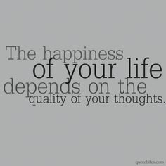 happiness & thoughts