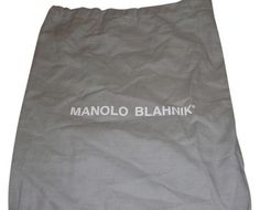 7.99$  Buy here - http://vizgg.justgood.pw/vig/item.php?t=95ex9b8665 - New Manolo Blanhnik Sleeper/ Dust Bag/ Protective cover for Shoes or Purse Gray 7.99$