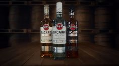 Bacardi rum has a new look. We like it, do you? Read the full story at rum-drinks.com