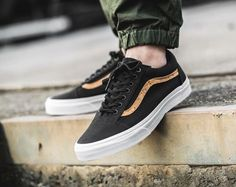 Vans Old Skool: Black/Cork