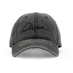 cff3e734b91c1 Forever 21 Women s Dope Tonal Script Baseball Cap ( 32) ❤ liked on Polyvore  featuring accessories