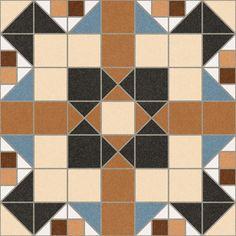 BARNET: Merton Marron - 31'6x31'6cm.   Pavimento - Gres   VIVES Azulejos y Gres S.A.