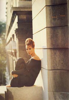 Christy Turlington by Steven Meisel - Vogue Italia September 1991.