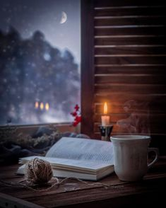 Rainy days should be spent at home with a cup of tea and a good book. Safe Room, Relax, Autumn Aesthetic, Autumn Cozy, Coffee And Books, Through The Window, Jolie Photo, Book Photography, Rainy Day Photography