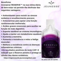 REVOLUCIONÁRIO RESERVE # adquira de qualquer lugar do mundo pelo site oficial www.tanycosta.jeunesseglobal.com #jeunessebrasil#jeunesseglobal