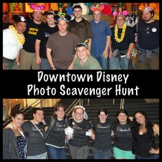 My Disney Life: Flashback Friday- Tigger VS Eeyore.  A Downtown Disney Photo Scavenger Hunt with our Wedding Party for Bachelor and Bachelorette Night!