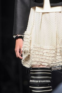 Jean Paul Gaultier at Couture Fall 2015 (Details)