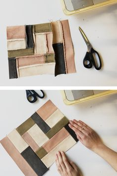 Sewing Hacks, Sewing Tutorials, Sewing Crafts, Sewing Projects, Sewing Patterns, Patchwork Bags, Quilted Bag, Sewing Clothes, Diy Clothes