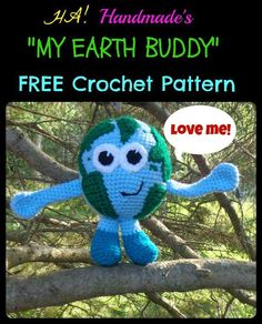 Looking for your next project? You're going to love My Earth Buddy Toy by designer HAHandmade.