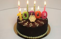 Thank you for 10000 page views at andrebegin.net Birthday Candles, Birthday Cake, Things To Come, Desserts, Blog, Tailgate Desserts, Birthday Cakes, Deserts, Blogging