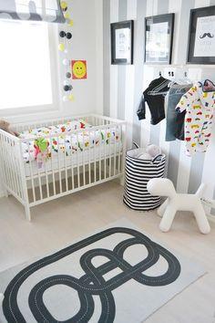lastenhuone,lastenhuoneen sisustus,pinnasänky,vaaterekki,lastenhuoneidea