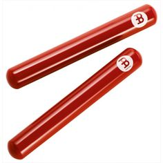 MEINL CL7R Claves Fiberglass Red  #PERCUSSION #CLAVES #music #musicinstruments #ntoulassound #ntoulas #meinl