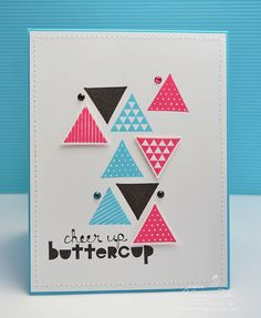 Trendy Triangles2 by Veronica Zalis, via Flickr