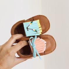 MINI SHUU | Sandalias, baby sandals, flip flops, leather, baby shoes, summer shoes