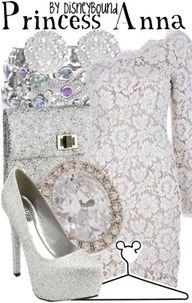 Princess Anna fashion from Frozen