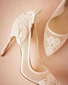 Sapatos da noiva!