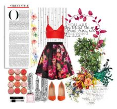 """""""April Showers, Bring May Flowers"""" by taspxa ❤ liked on Polyvore featuring T By Alexander Wang, Christian Dior, Christian Louboutin, Ted Baker, AlexanderMcQueen, SpringStyle, Spring2015 and springsummer2015"""