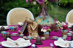 July 2015: Indian Vibe Wedding Theme | Satori Art & Event Design | Cluj Napoca, Romania Gold Wedding Decorations, Table Decorations, Indiana, Indian Wedding Theme, Event Themes, Romania, Event Design, Wedding Designs, Wedding Events