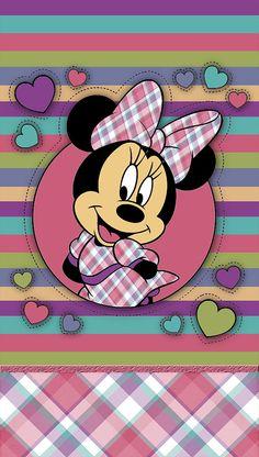 Cute minnie mouse wallpaper #Disney