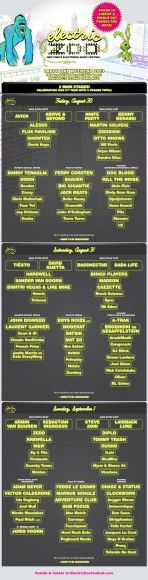 UPDATE: Electric Zoo Festival 2013 - Phase 3 Lineup has been announced http://su.pr/1kVhnz