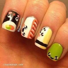 Adorable kawaii @Kayla Savage.nails