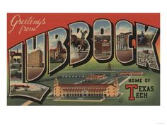 Lubbock, Texas- been there done that! & would do it all over again!