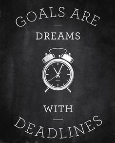 A dream without a goal is like a cloud without anything else. Get inspired at www.drjulieconnor.com where there's lots of goal-setting tips that ensure success!