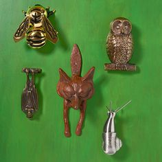 A knocker is an opportunity to give your house a little extra personality. So why not go wild? We show you dozens of options.