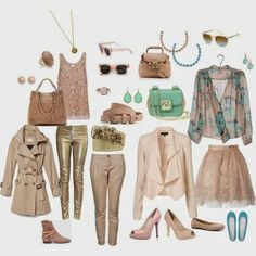 A fashion look from April 2012 featuring By Malene Birger blouses, Reiss tops i MICHAEL Michael Kors coats. Browse and shop related looks. Light Spring Palette, Spring Color Palette, Spring Colors, Clear Spring, Bright Spring, Warm Spring, Lily Cole, Facon, Capsule Wardrobe
