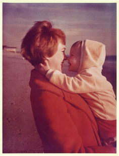 Julie Andrews and her daughter.