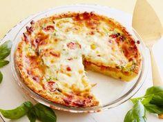 Kids Can Make: Hash Brown, Tomato and Mozzarella Quiche Recipe | Food Network Kitchen | Food Network