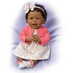 Always Smiling, Aisha So Truly Real Baby Doll - Realistic Baby Dolls