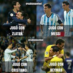 Reposting @volcanbaymeme: Es Di María el jugador con más suerte?🔥👇 ------------------------------- #followforlike #follow4follow #likeforlike #like4like #joinfutmemes #dimaria #paris #psg #argentina #brasil #neymar #barca #barcelona #cristiano #ronaldo #portugal #madrid #manchesterunited #manchester #suecia