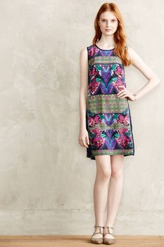 Bagan Shift Dress - anthropologie.com