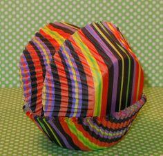 Modern Halloween Striped Cupcake Liners   by sweettreatssupplies, $3.75