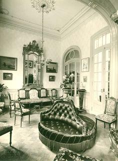 Avanzi, Eugenio  Sala de estar. Casa del arquitecto Tartaglia  Interiores de residencias porteñas tradicionales. 1900