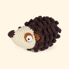 Sebra Hedgehog Crochet Rattle