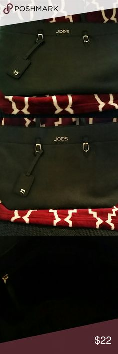 JOE'S Jeans Large Tote bag JOE'S Jeans Black Large Tote Bag..Super cute and spacious...Never Used ready for You..Cute staple for any Wardrobe!! Joe's Jeans Bags Totes