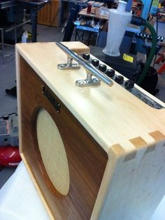 New Cabinet for 1950's Guild Guitar Amp