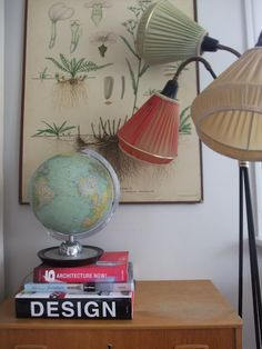 Simple and Ridiculous Tricks: Lamp Shades Retro Mid Century